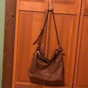 Michael Kors brown satchel